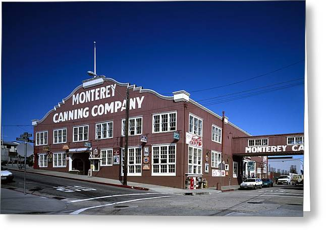 Cannery Row In Monterey  Greeting Card