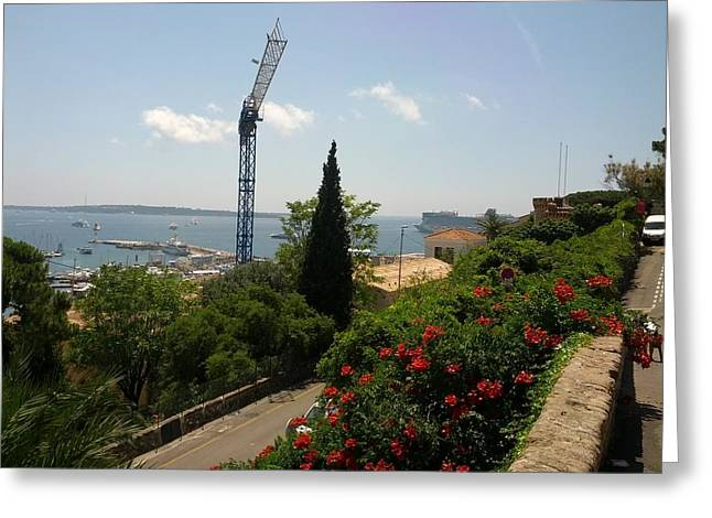 Cannes French Riviera IIi Greeting Card by Shesh Tantry