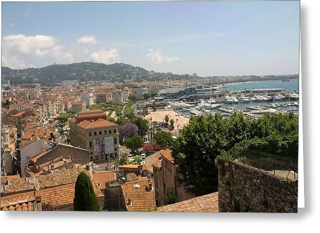 Cannes French Riviera Iv Greeting Card by Shesh Tantry
