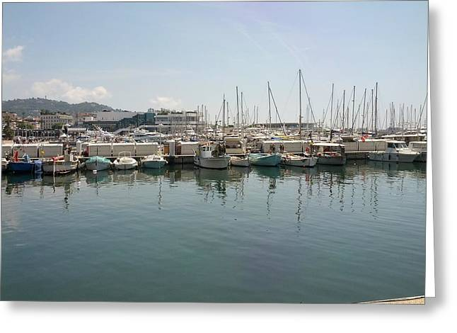 Cannes French Riviera Vi Greeting Card by Shesh Tantry