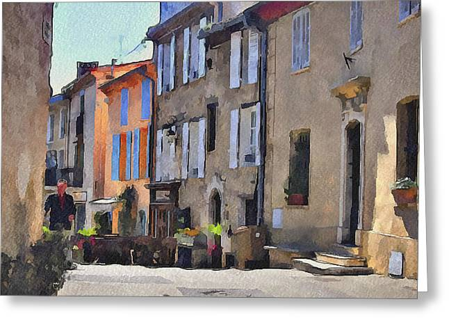 Cannes Mougins 1 Greeting Card