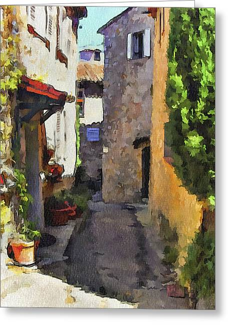 Cannes Mougins 2 Greeting Card