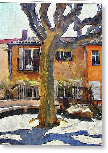 Cannes Mougins 4 Greeting Card