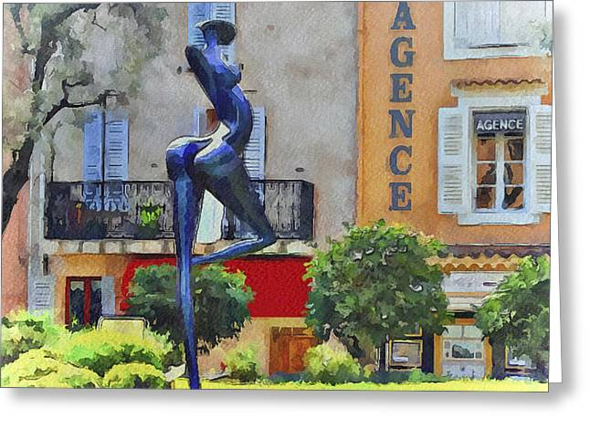 Cannes Mougins 5 Greeting Card