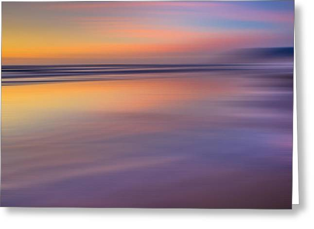 Greeting Card featuring the photograph Cannon Beach Abstract by Adam Mateo Fierro