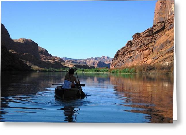 Canoe Trip Greeting Card