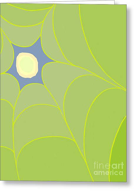 Canopy Peek Greeting Card