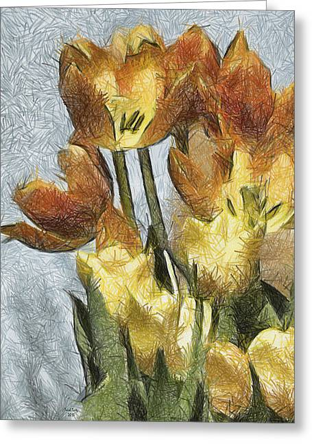 Can't Wait For Spring Greeting Card by Trish Tritz