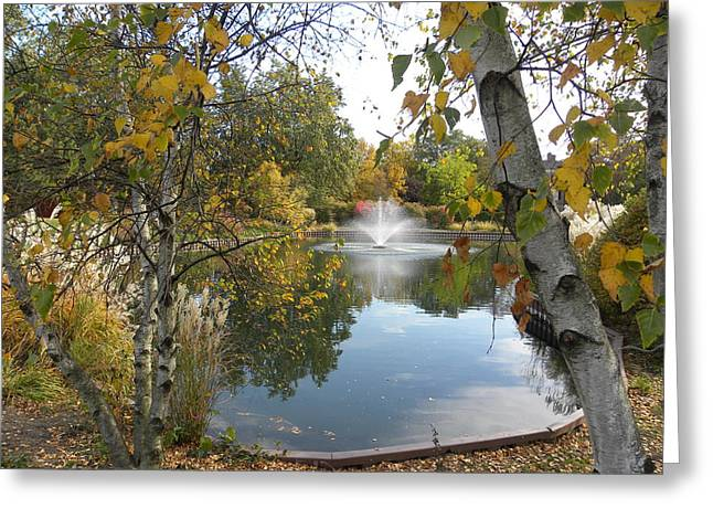 Greeting Card featuring the photograph Cantigny Park by Teresa Schomig