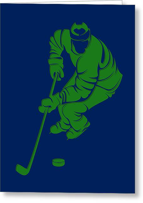 Canucks Shadow Player3 Greeting Card