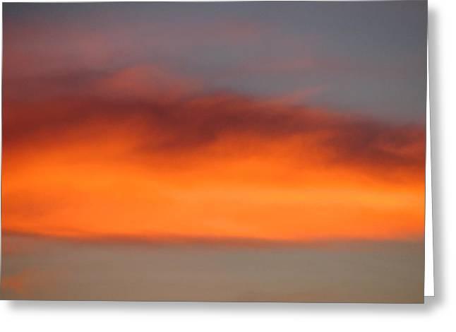 Canvas Sky Greeting Card