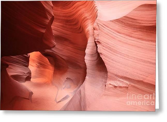 Canyon Angel Greeting Card by Adam Jewell