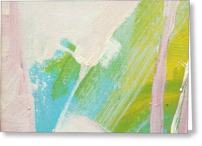 Greeting Card featuring the painting Canyon Awash C2013 by Paul Ashby