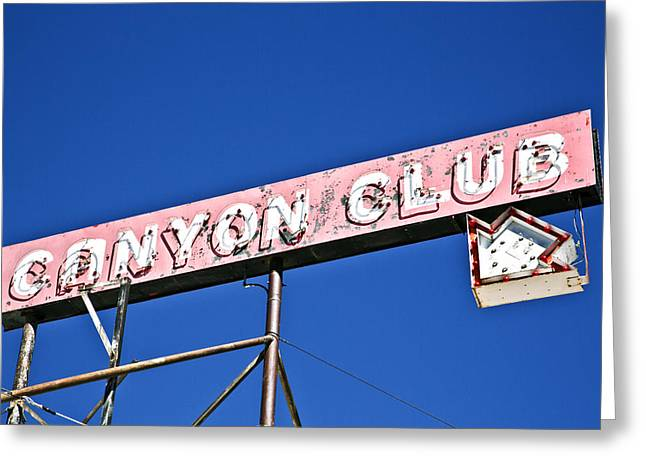 Canyon Club Greeting Card
