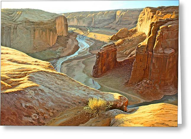 Canyon De Chelly Greeting Card by Paul Krapf