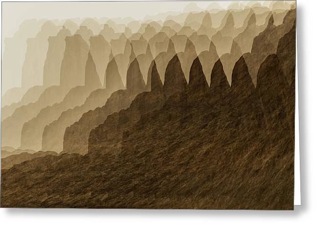 Canyon Dreams Greeting Card