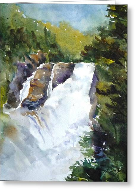 Canyon St. Anne -1 Greeting Card