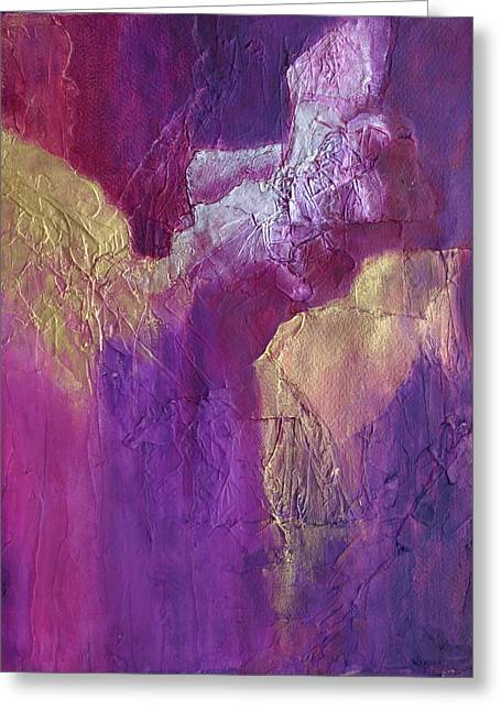 Greeting Card featuring the painting Canyonlands by Nancy Jolley