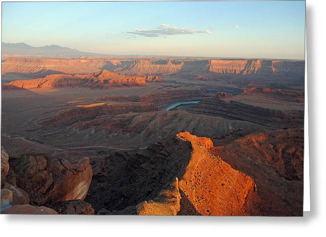 Greeting Card featuring the photograph Canyonlands Np Dead Horse Point 21 by Jeff Brunton