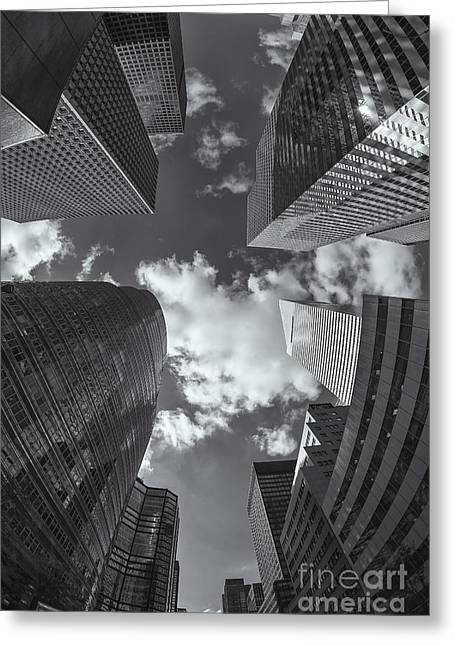Canyons Of New York II Greeting Card