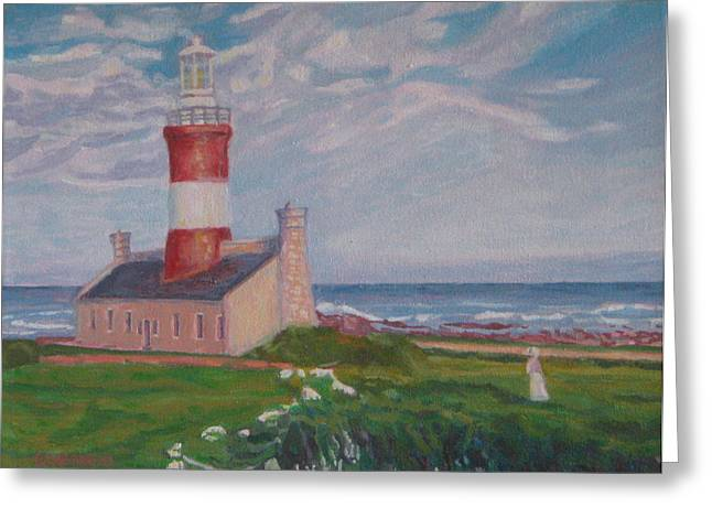 Cape Aghulas Lighthouse Greeting Card
