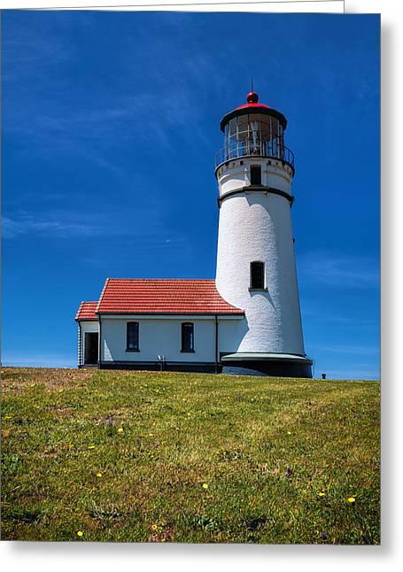 Cape Blanco Lighthouse Greeting Card
