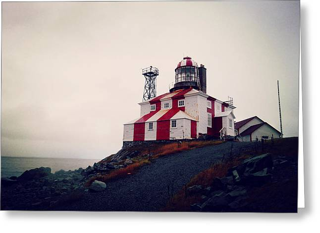 Cape Bonavista Lighthouse Greeting Card