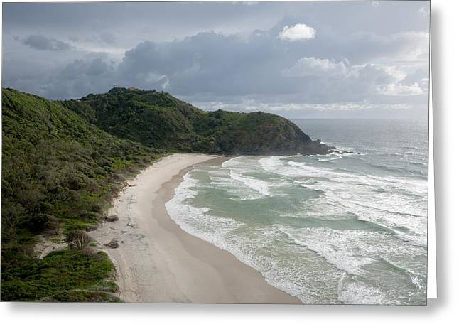 Cape Byron And The Byron Lighthouse Greeting Card