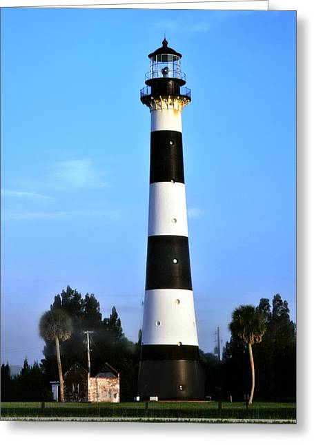 Cape Canaveral Light Greeting Card