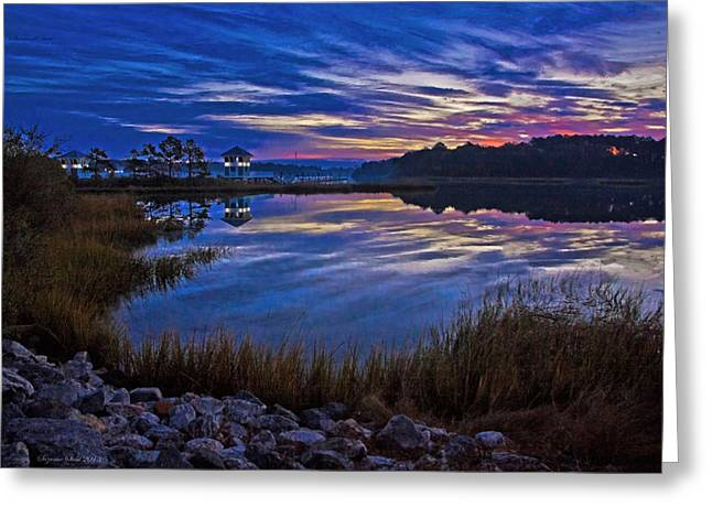 Cape Charles Sunrise Greeting Card