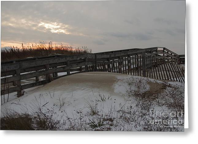 Cape Charles Winter Greeting Card