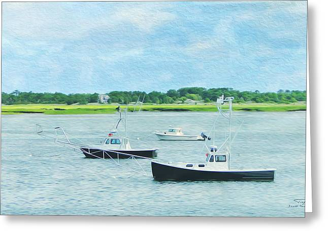 Cape Cod 08 Greeting Card by Joost Hogervorst