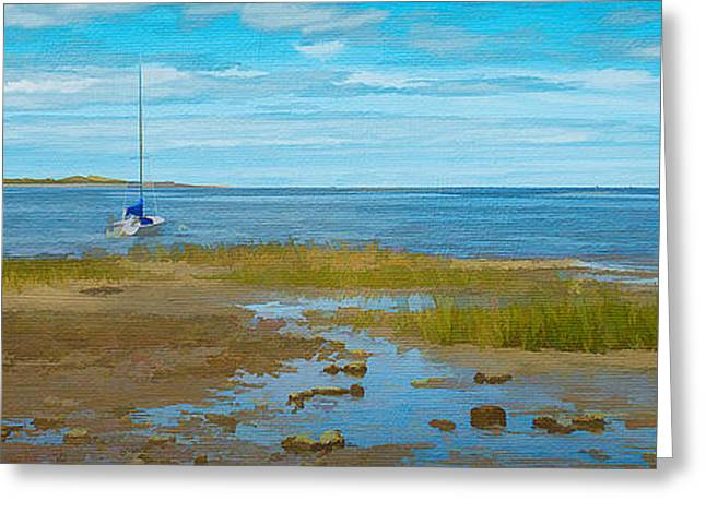 Cape Cod Bay Greeting Card