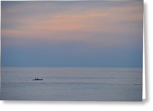 Cape Cod Dusk Greeting Card