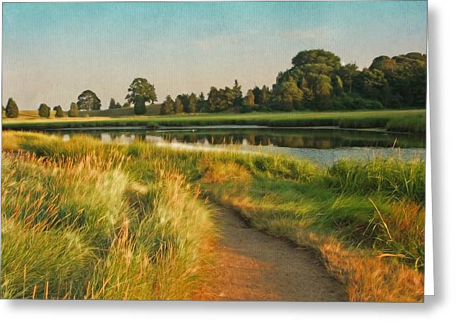 Cape Cod Eastham Eventide Number Two Greeting Card by Brooke T Ryan