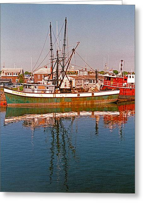 Cape Cod II Greeting Card by Suzanne Gaff