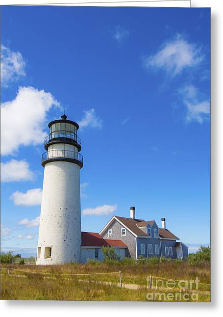 Cape Cod Lighthouse Greeting Card