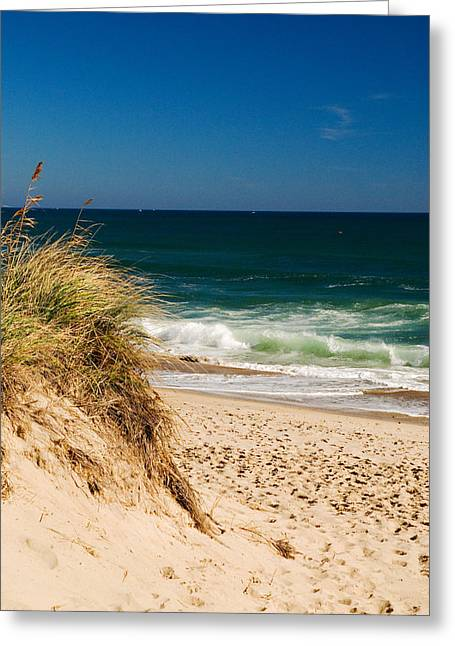 Cape Cod Massachusetts Beach Greeting Card