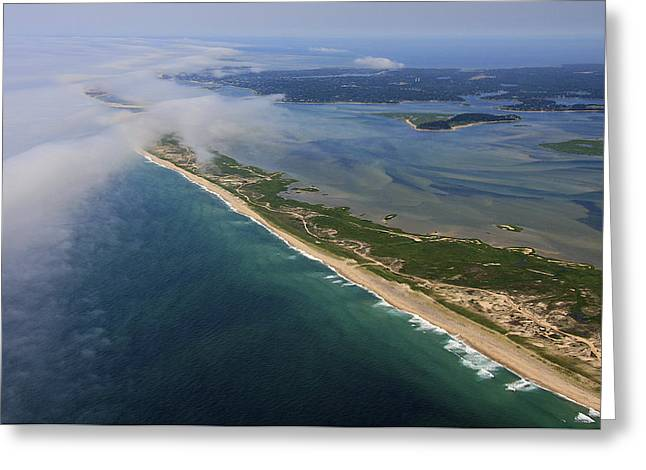 Cape Cod National Seashore, Chatham Greeting Card by Dave Cleaveland