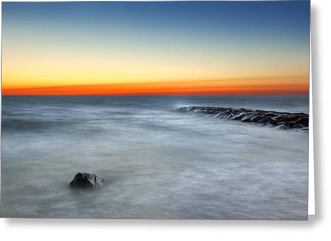 Cape Cod Sunrise Greeting Card by Bill Wakeley