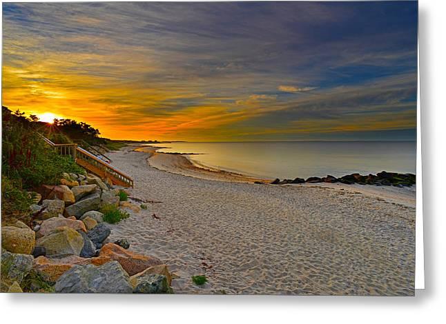 Cape Cod Sunrise #1 Greeting Card
