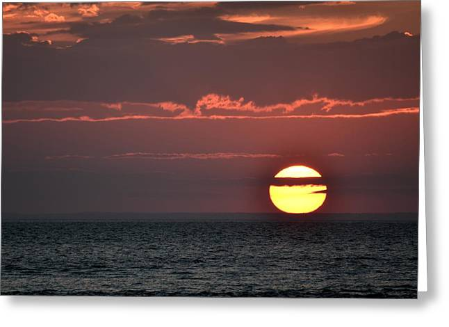Cape Cod Sunset On Gray's Beach Greeting Card by Toby McGuire