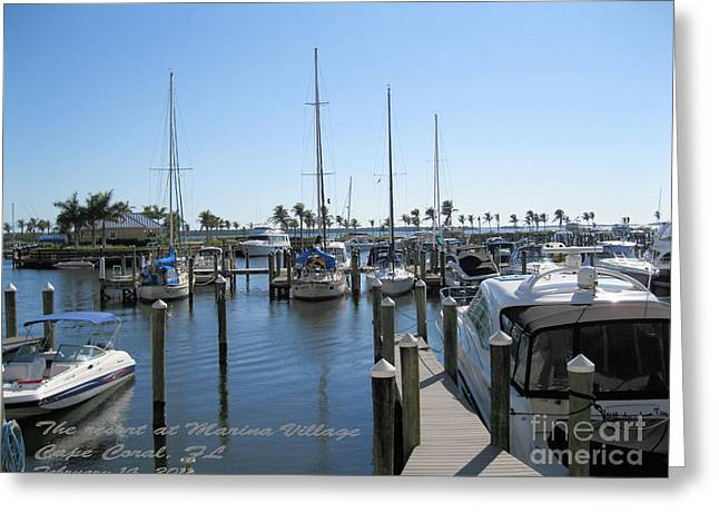 Greeting Card featuring the photograph Cape Coral Fl by Oksana Semenchenko