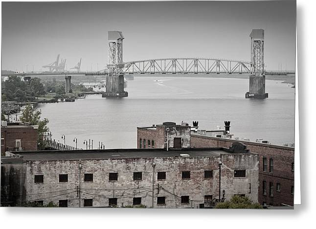 Cape Fear River - Photography By Jo Ann Tomaselli Greeting Card