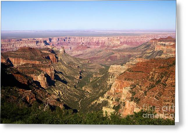 Cape Final Canyon View Greeting Card by Adam Jewell