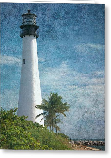 Cape Florida Lighthouse 2 Greeting Card by Rudy Umans