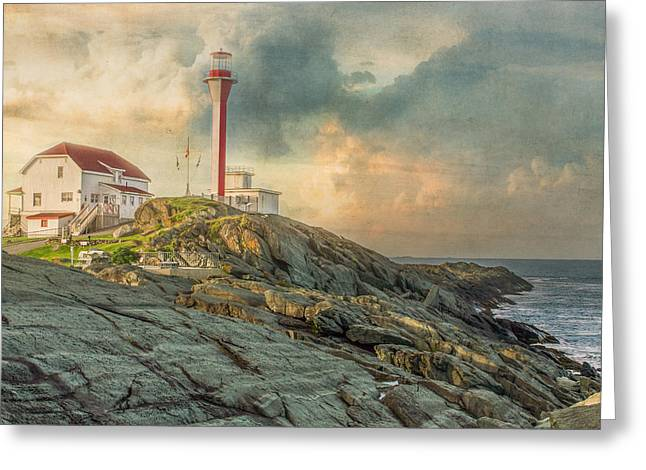Cape Forchu  Greeting Card