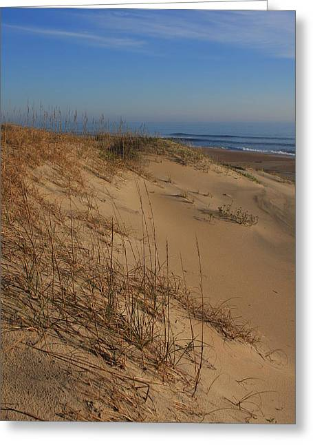 Cape Hatteras Dunes-outer Banks North Carolina Greeting Card