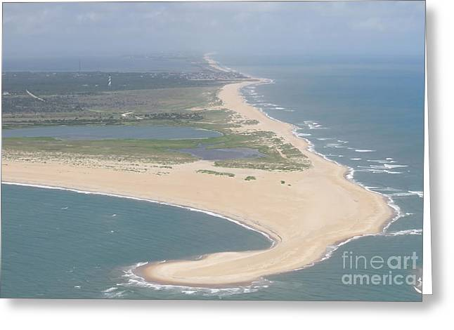 Cape Hatteras The Postcard Greeting Card
