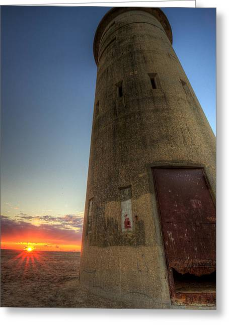 Cape Henlopen Tower Greeting Card